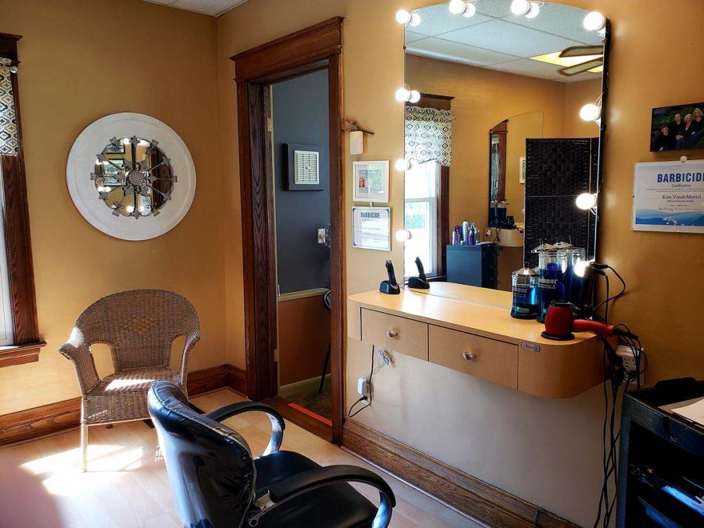hair salon station